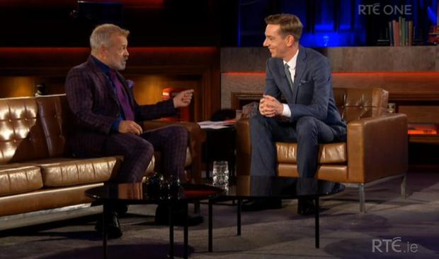 Graham Norton on The Late Late Show