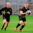 Stuart Olding (left) and Paddy Jackson (right).