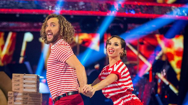 Strictly fans suggested Seann Walsh and Katya Jones were marked too generously (BBC/Guy Levy/PA)