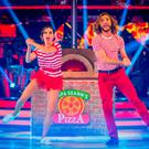 Out of step: Seann Walsh and Katya Jones getting floury on 'Strictly' last night. Many online fans felt they got 'sympathy' votes from the judges. Photo: PA