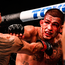 Tony Ferguson (left) in action against Anthony Pettis