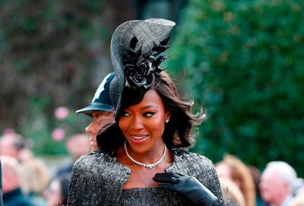 Naomi Campbell. Photo: Gareth Fuller/AFP/Getty Images