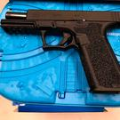 One of the guns that was seized by gardai