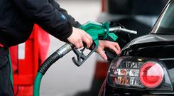 Rising: Pump prices are going up but are more costly elsewhere. Photo: PA