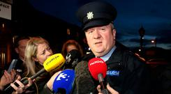 Former Garda press officer Supt Dave Taylor has been told he will be suspended. Photo: Frank McGrath