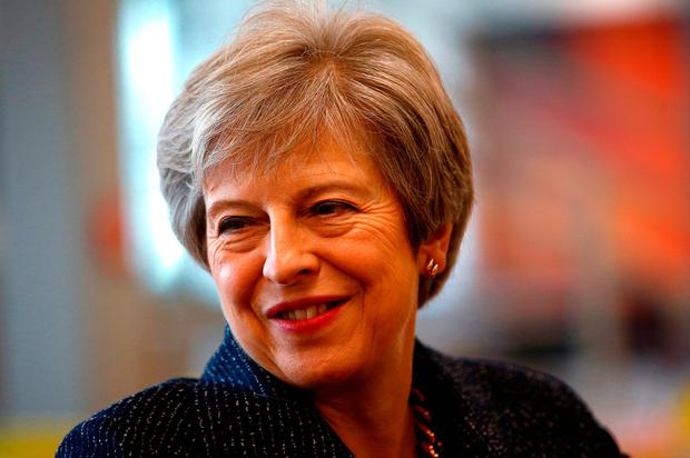 Brexit blues: UK Prime Minister Theresa May is in danger of losing the support of the DUP, whose backing she needs to stay in power. Photo: PA