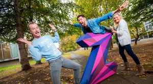 The Z factor: Rory O'Neill (aka Panti Bliss), TV and radio presenter Eoghan McDermott and RTÉ 2FM presenter Tracy Clifford launch Zeminar 2018