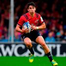 Munster's Joey Carbery. Photo: Brendan Moran/Sportsfile