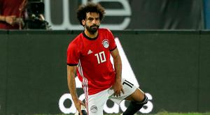 Egypt's Mohamed Salah reacts after sustaining an injury. REUTERS/Mohamed Abd El Ghany