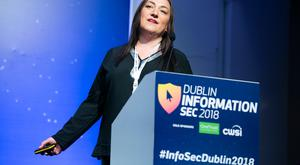 Jenny Radcliffe at the 2018 Information Sec in the RDS
