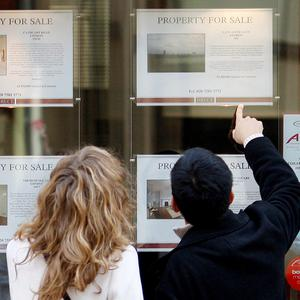 First-time buyers (Stock photo)
