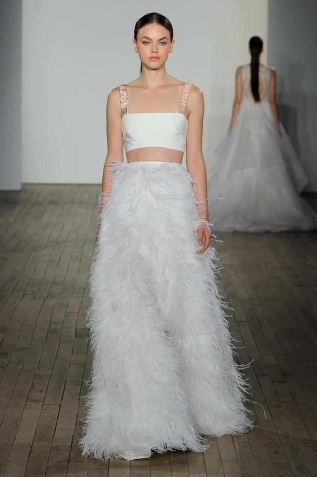 ad20a6e82aa The top wedding dress trends for 2019  The Fall Winter Collections ...