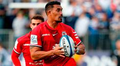 Toulouse's New Zealand number 8 Jerome Kaino