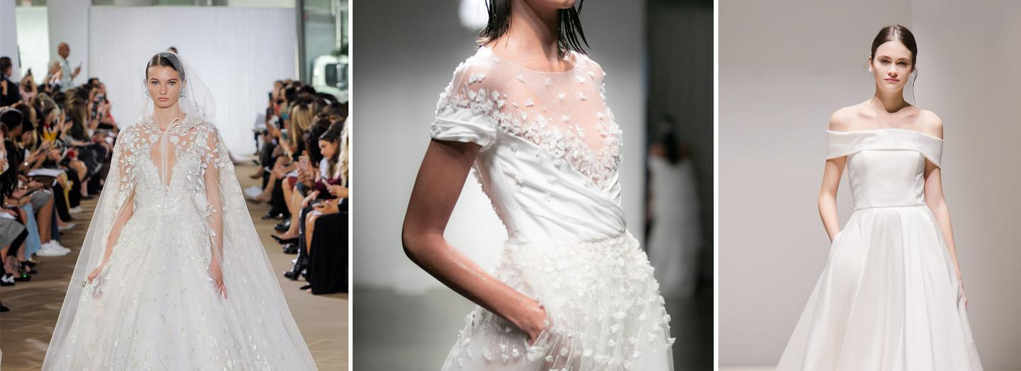 Wedding dress trends autumn / winter 2019
