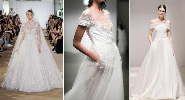 126c8e4a58 These are the top wedding dress trends for 2019