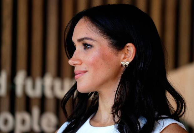Meghan, Duchess of Sussex attends a ceremony at Taronga Zoo on October 16, 2018 in Sydney, Australia