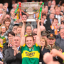 Darran O'Sullivan lifts the Sam Maguire Cup in 2009