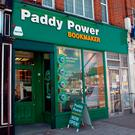 File photo dated 30/08/05 of a Paddy Power bookmaker in North London. Photo: Michael Stephens/PA Wire