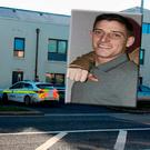 Craig Carroll (inset) was shot in an attack in Neilstown