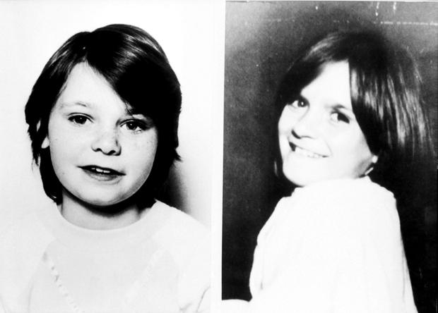 Undated handout file photos of Brighton schoolgirls Karen Hadaway (left) and Nicola Fellows. Photo: PA Wire