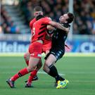 Alex Lozowski has been cited for a dangerous tackle on Glasgow full-back Ruaridh Jackson ( PA )