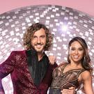 Seann Walsh and Katya Jones will return with a Quick Step. (Ray Burmiston/BBC/PA)