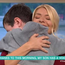 Michael hugs Holly on ITV's This Morning