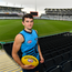 15 June 2018; Mark O'Connor of the Geelong Cats AFL team poses for a portrait in the GMHBA Stadium in Geelong, Australia. Photo by Brendan Moran/Sportsfile