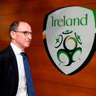 Republic of Ireland manager Martin O'Neill arrives prior to the UEFA Nations League B group four match between Republic of Ireland and Wales at the Aviva Stadium in Dublin. Photo by Stephen McCarthy/Sportsfile