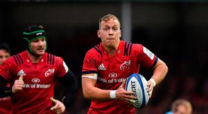 Mike Haley has settled in at Munster both on and off the pitch. Photo: Sportsfile