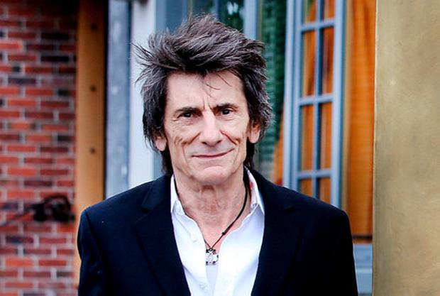 Ronnie Wood. Photo: Steve Humphreys