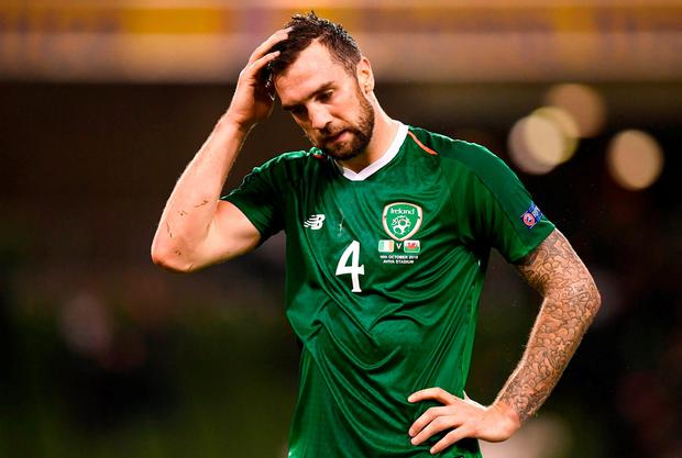 Shane Duffy is out of Ireland's crucial double header