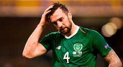 Shane Duffy: 'It's us out there playing. It's the players' responsibility to perform'. Photo: Stephen McCarthy/Sportsfile