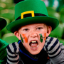 Evan Connolly (10) and brother Reece (8), from Swords, Co Dublin. Photo: Sportsfile