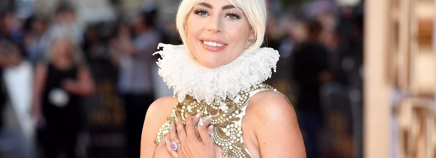 LONDON, ENGLAND - SEPTEMBER 27: Lady Gaga at 'A Star Is Born' UK Premiere at Vue West End on September 27, 2018 in London, England. (Photo by Jeff Spicer/Getty Images for Warner Bros)