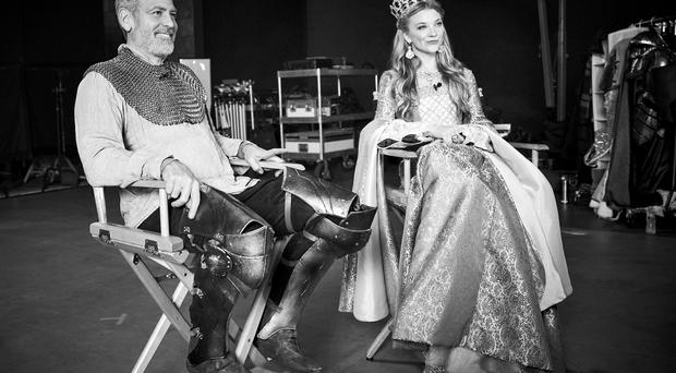 George Clooney and Natalie Dormer