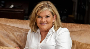 Clare Ronan relaxing at home in her empty nest