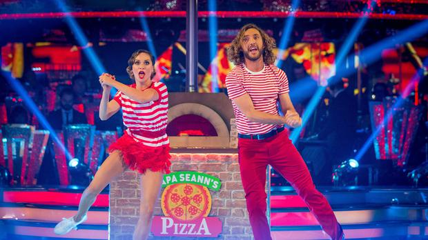 Strictly's Katya says Seann was scratched and bruised after routine