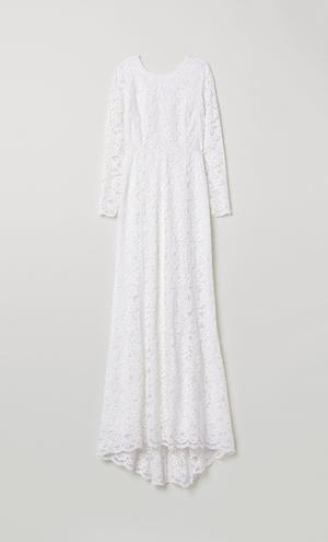 91d6f2d4e594 The latest offering from H&M sees some seriously beautiful wedding-ready  gowns available online for a fraction of the cost of those traditionally  available ...