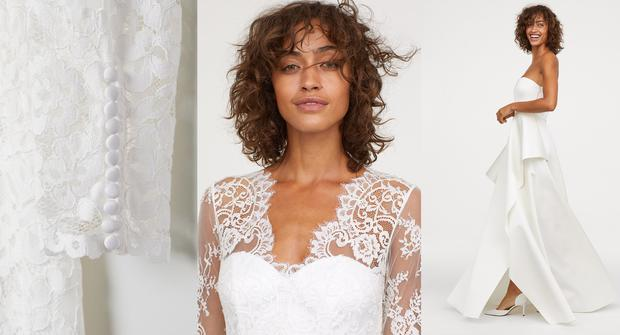 ef9dbc01a58a Bride-to-be on a budget? You'll want to see H&M's stunning new ...