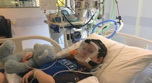 Sam Bailey (8) from Rathcoole Co Dublin was diagnosed with Spinal Muscular Atrophy (SMA) at 14 months old and requires round the clock care