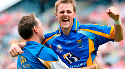 James Stafford celebrates after Wicklow's victory in the Tommy Murphy Cup final in 2007. Photo: Sportsfile
