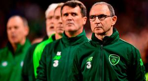 O'Neill and his team are under contract until Ireland's interest in Euro 2020 ends. Photo: Seb Daly/Sportsfile