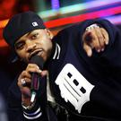 NEW YORK -DECEMBER 17: (U.S. TABS OUT) Rapper Obie Trice appears on stage during Fuse's IMX December 17, 2003 in New York City. (Photo by Scott Gries/Getty Images)