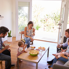 There was a time - and it wasn't that long ago - when you could call to a friend's home unannounced. Stock photo
