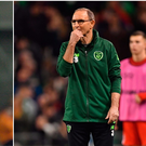 Steve Staunton (left) and Martin O'Neill (right).