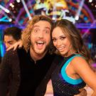Seann Walsh and Katya Jones (BBC/Guy Levy)
