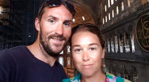 Michael Curran and Sara O'Shea had been enjoying a 'dream' trip around the world when the crash happened