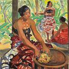 Unique style: Preparing the Meal, Samoa (1924). Courtesy of Whyte's