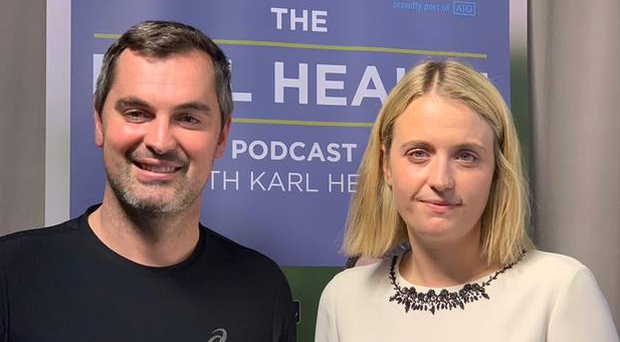 Karl Henry and psychologist Sarah O'Neill